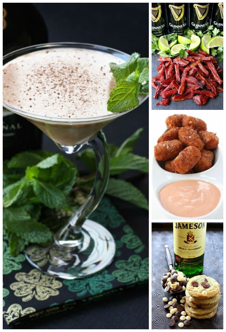 Celebrate St. Patrick's Day from Cocktails to Dessert!