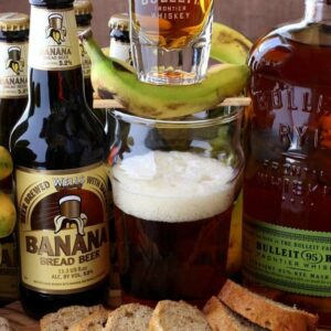 Banana Bread Beer Boilermaker Cocktail