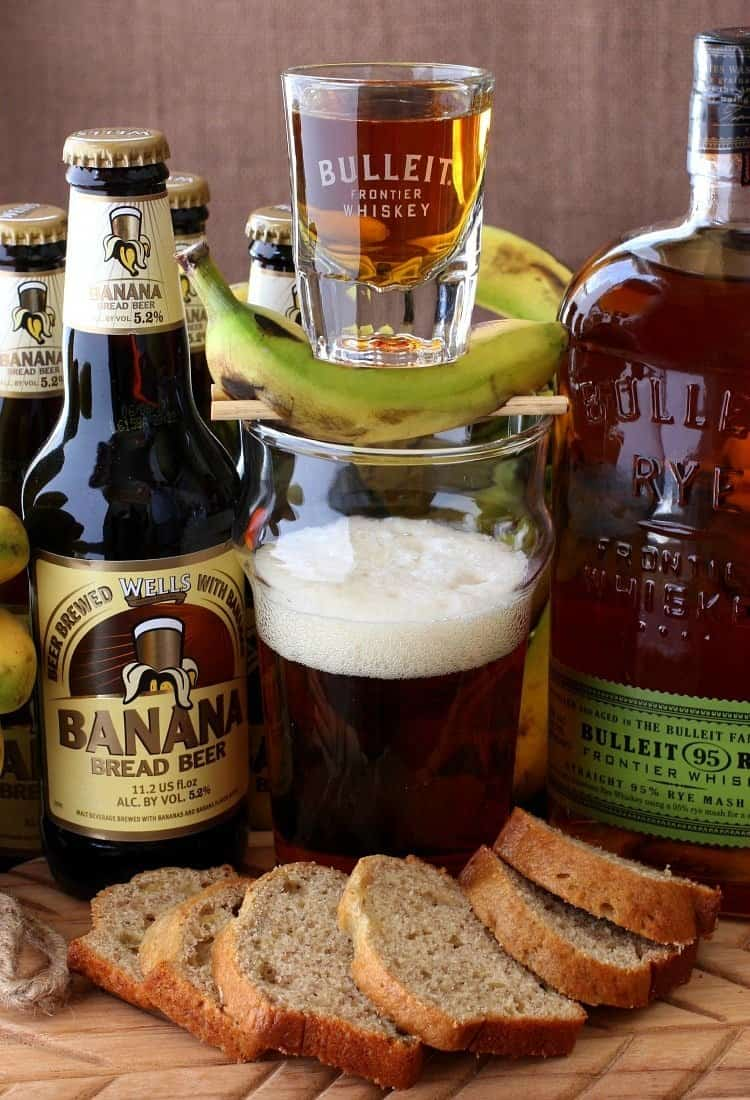 Banana Bread Beer Boilermaker Cocktail