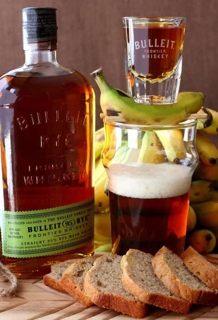 Banana Bread Beer Boilermaker