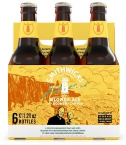 Tasting Smithwick's Blonde Ale with Boomer and Carton