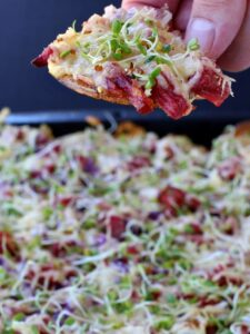 Corned Beef Irish Nachos are an amazing corned beef leftover recipe for appetizers or dinner!