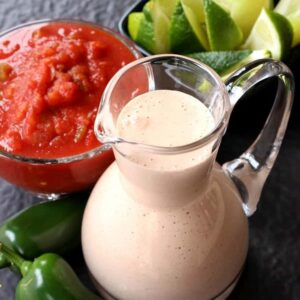 Easy Creamy Salsa Dressing
