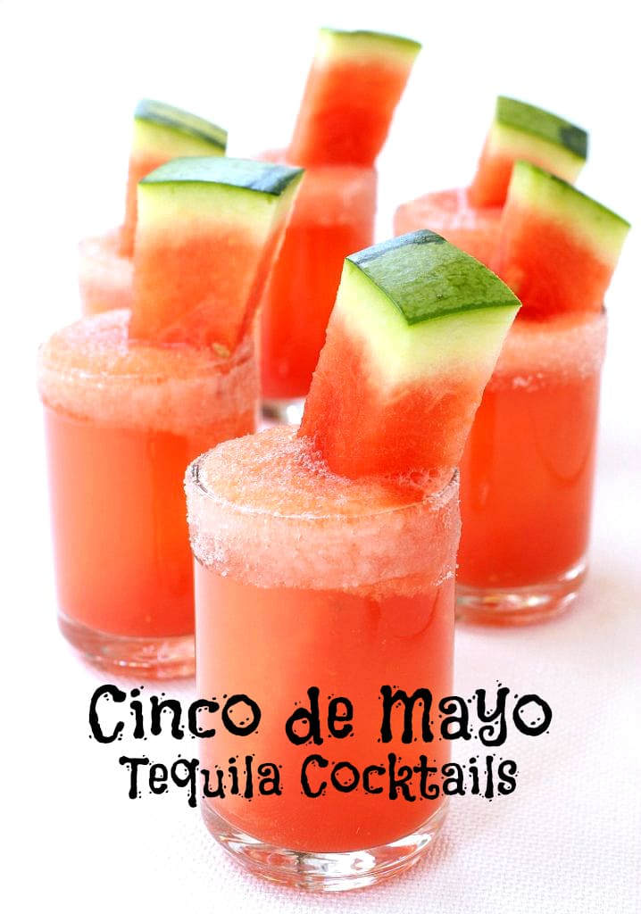 cinco de mayo tequila cocktails - hero image