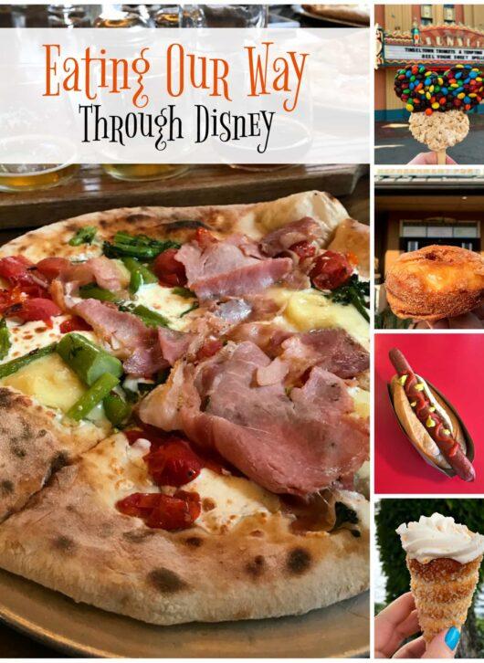 Eating Our way through Disney