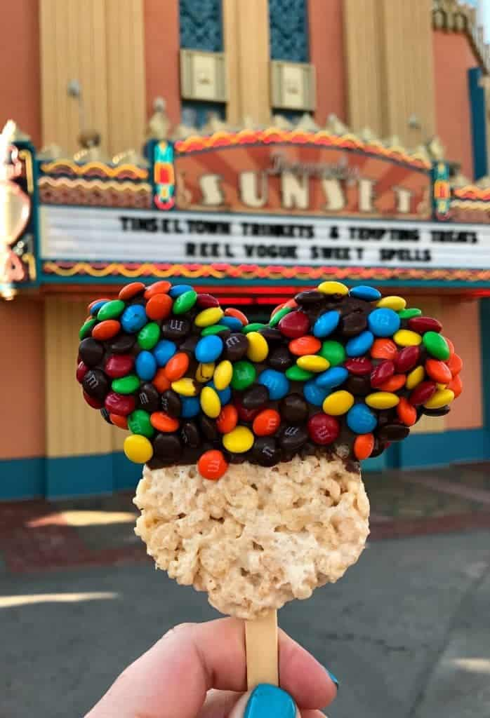 Eating Our Way Through Disney, mickey krispie treat