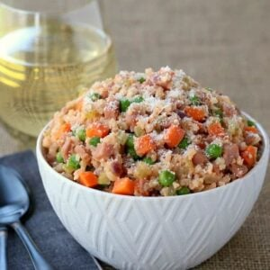 Ham and Vegetable Cauliflower Rice Recipe