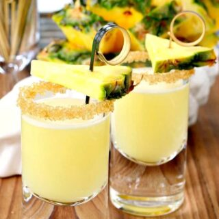 Double Trouble Tropical Tequila Shots