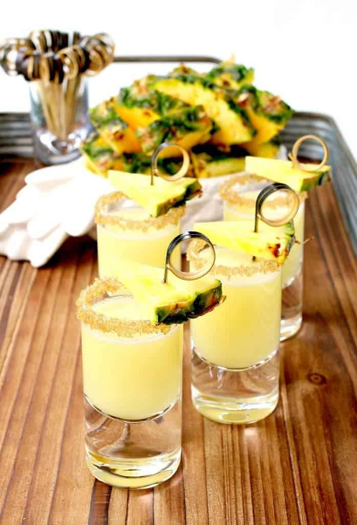 Double Trouble Tropical Tequila Shots pack a big punch in a small glass!