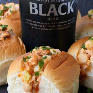 Make these Mini Chorizo Shrimp Rolls for your next party!