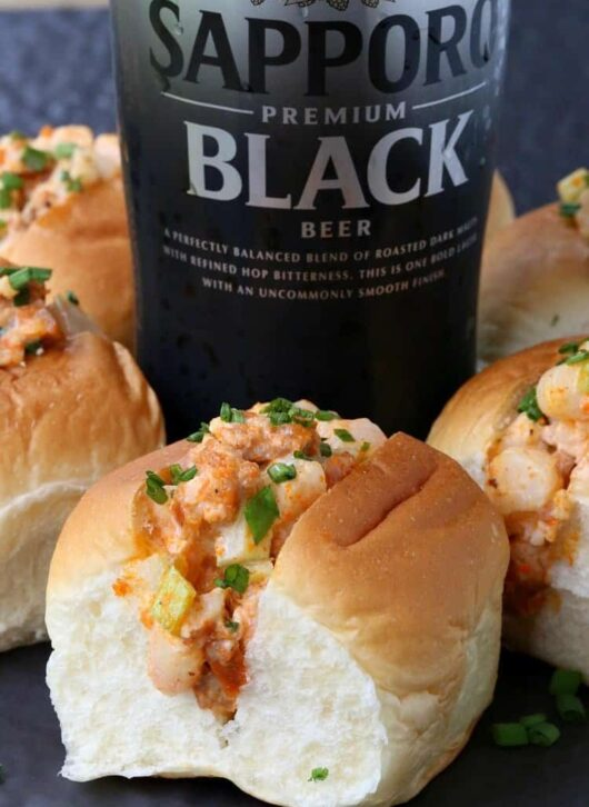 Make these Mini Chorizo Shrimp Rolls for your next party!