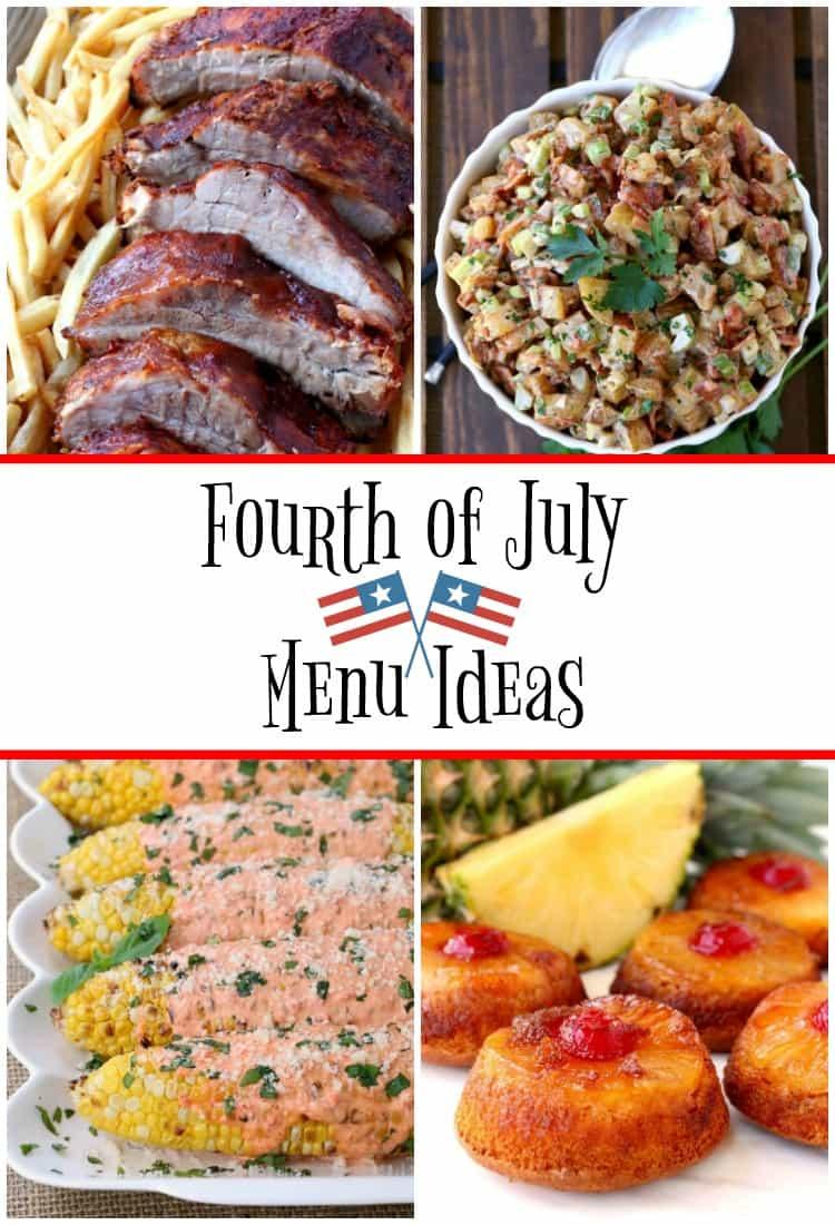 Fourth of July Menu Ideas