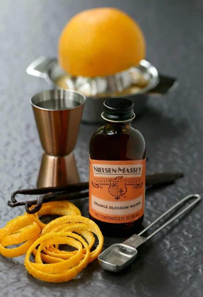 Orange Blossom Vodka Martini ingredients