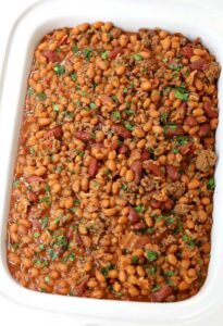 Buddha's Baked Beans are the best baked beans recipe you'll ever taste!