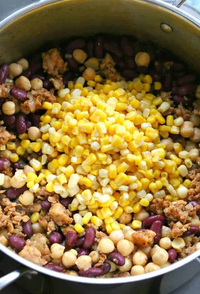 Chicken Chili Recipe With Beans and corn