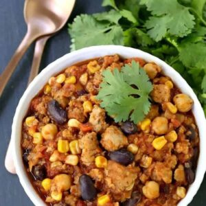 Chicken Chili With Beans Recipe
