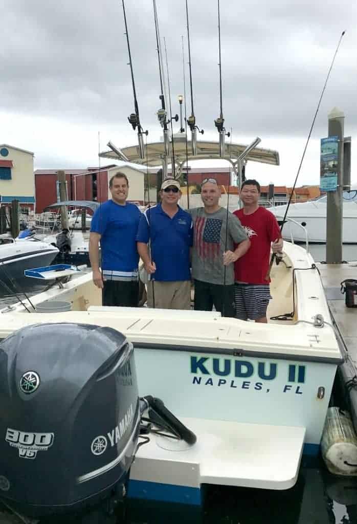 MANcation in Naples, Florida - Fishing Boat