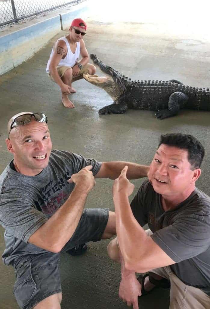 MANcation in Naples, Florida - Airboat Gator watching