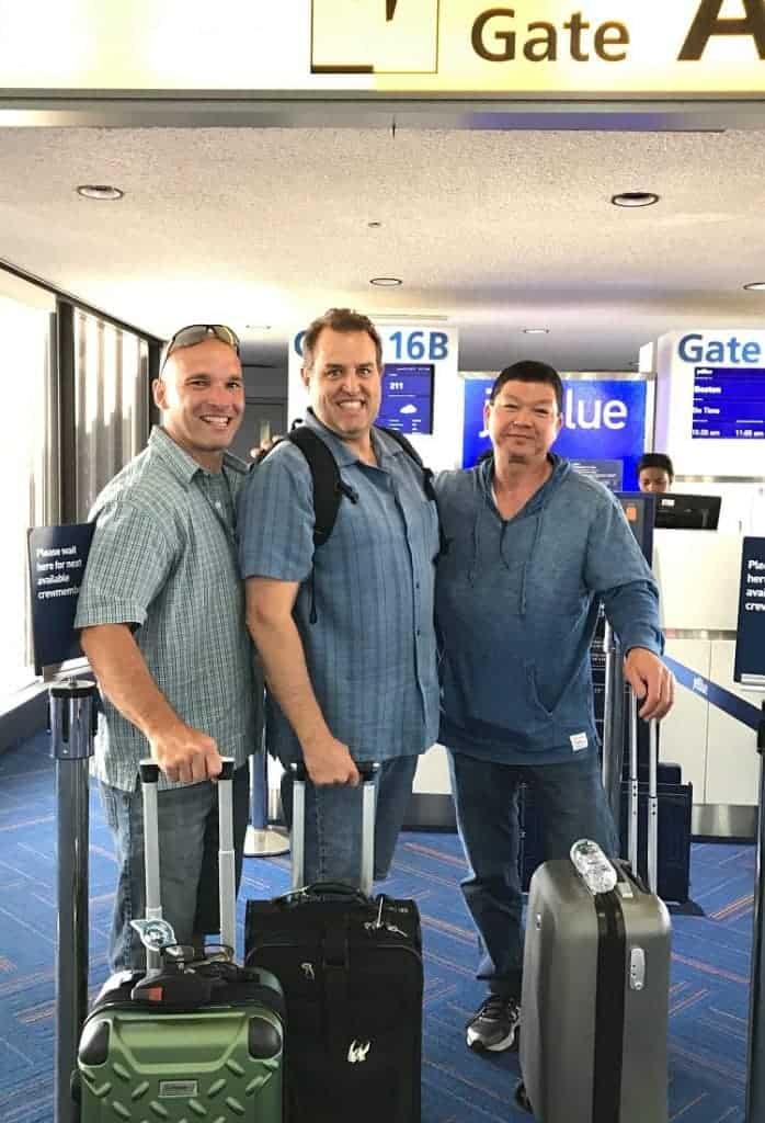 MANcation in Naples, Florida - airport