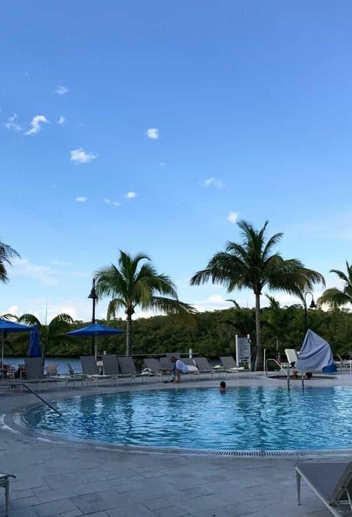 MANcation in Naples, Florida - hotel pool