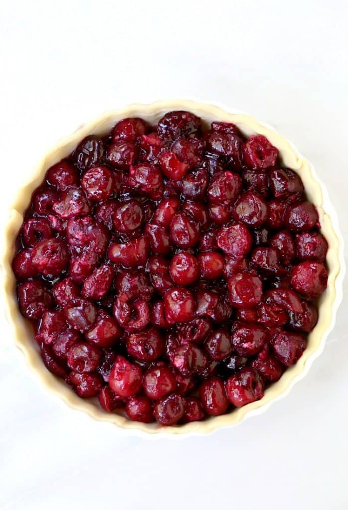 This Bourbon Soaked Cherry Pie will be the star dessert at your parties!
