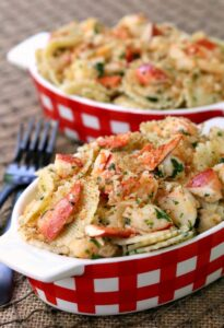 Brown Butter Lobster Roll Pasta