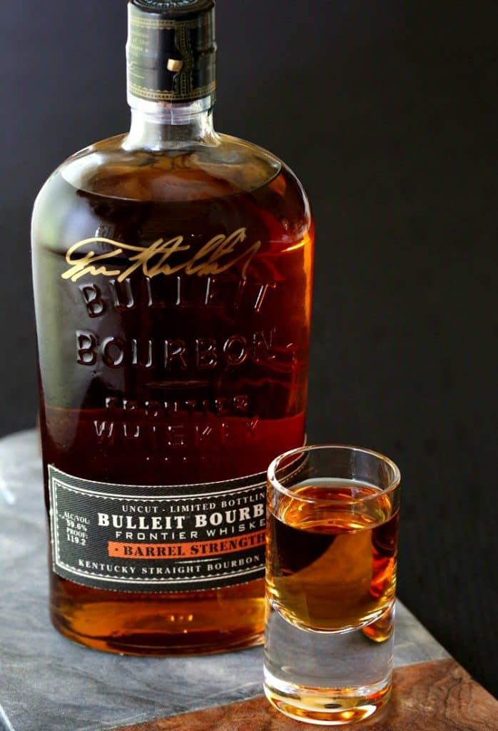 Kentucky Sunset Cocktail with Bulleit Bourbon Barrel Strength