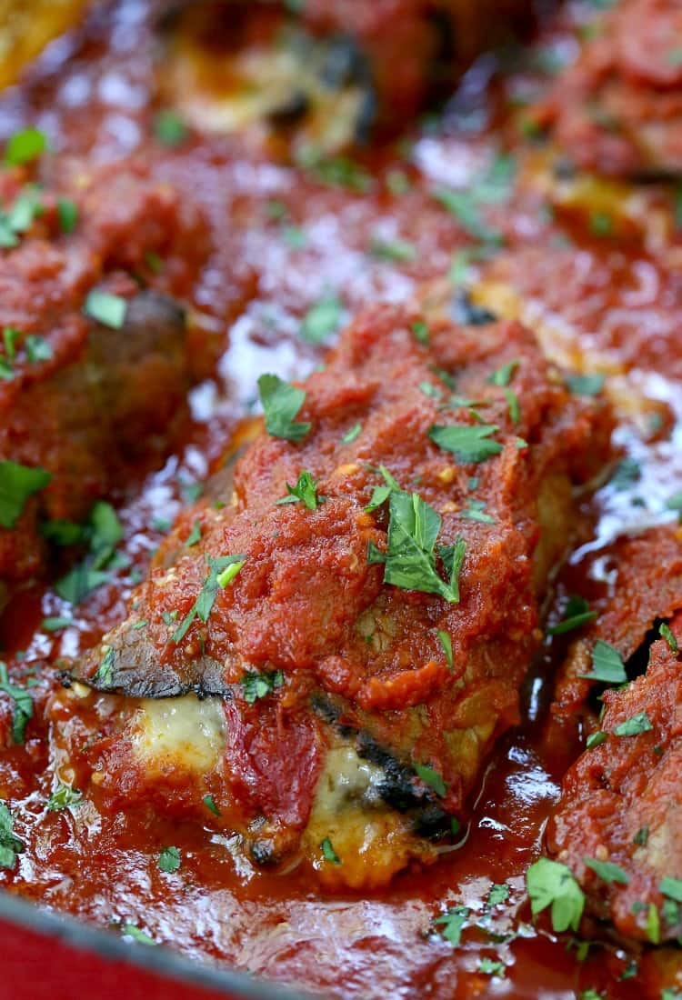 Make this Short Cut Beef Braciole for a Sunday dinner feeling dinner that cooks in half the time!