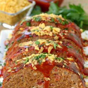 Easy Turkey Taco Meatloaf Recipe