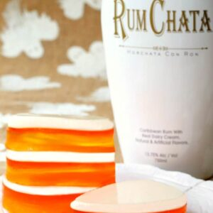 RumChata Candy Corn Jello
