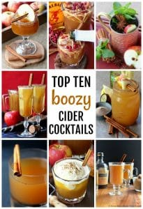 Top Ten Boozy Cider Cocktails