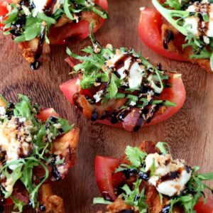 These Cherrywood Smoked BLT Bites are going to be a hit for appetizers!