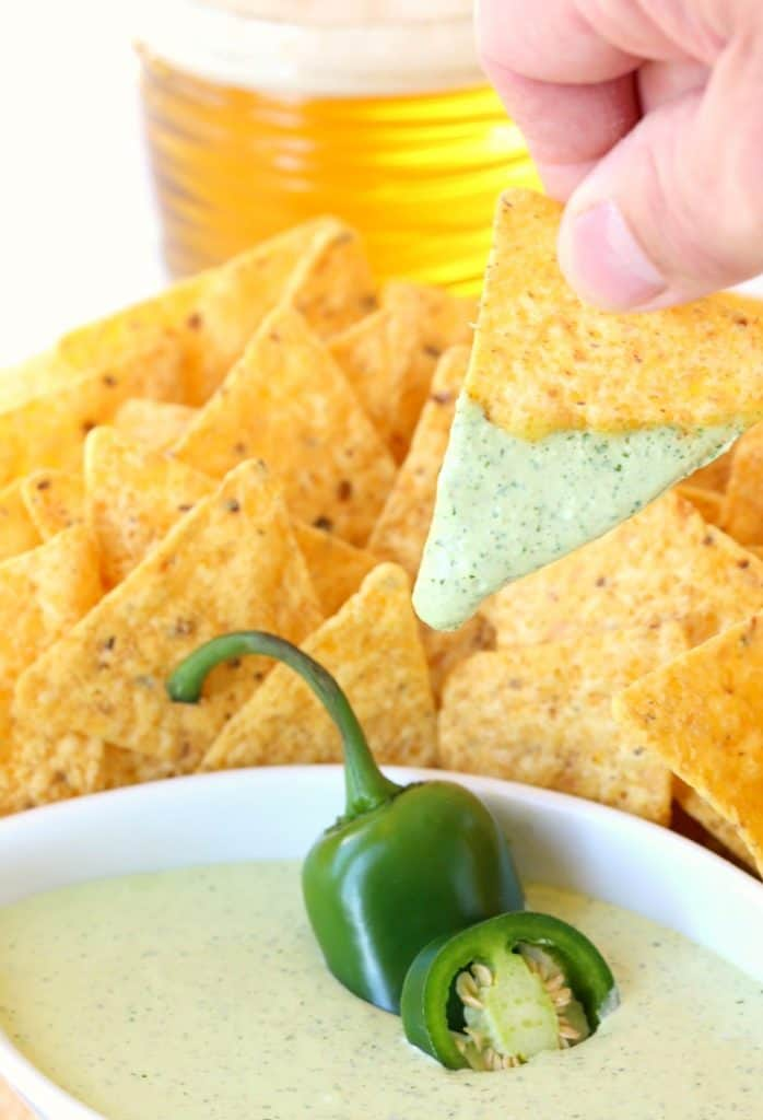 Creamy Jalapeño Dip is going to be the hit of the party!