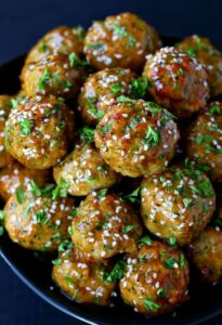 Easy Chicken and Broccoli Meatballs