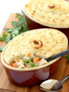 Leftover Shepherd's Pie is a turkey leftover recipe