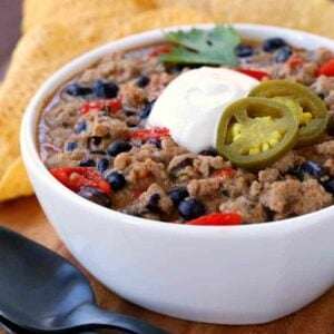 White Turkey Ranch Chili