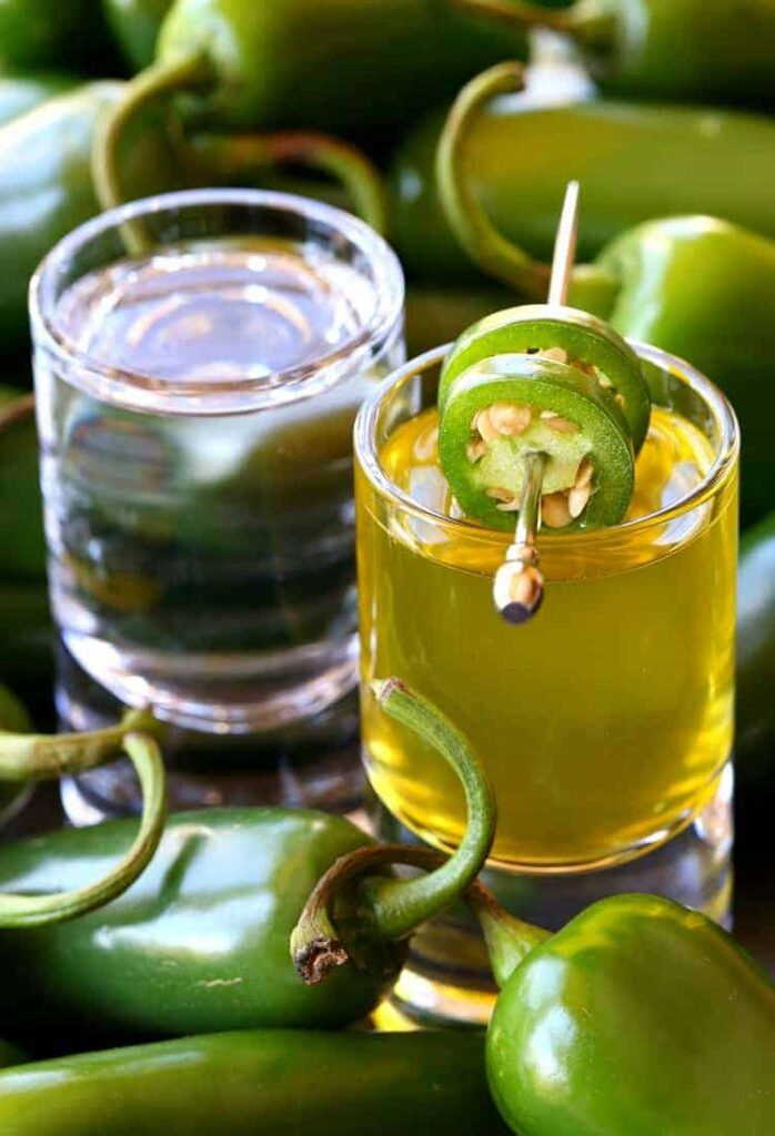 This Jalapeñoback Shot is spicy, tasty and will go right to your head!