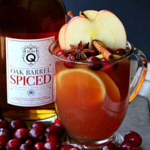 Slow Cooker Spiced Rum Cocktail