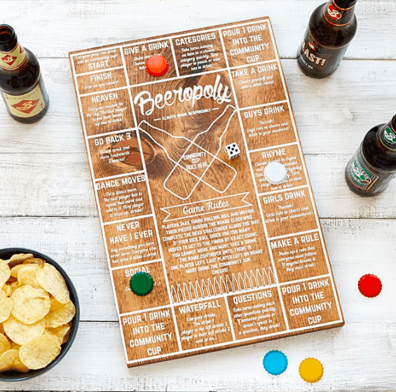The Mantitlement Gift Guide - Beeropoly