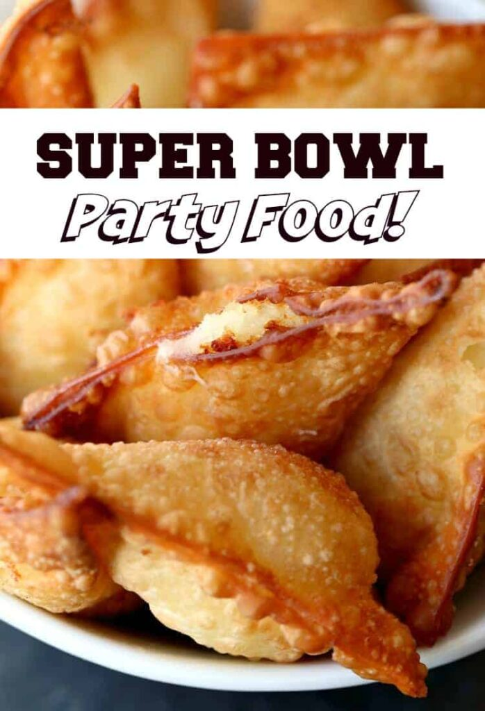 Super Bowl Party Food is a list of easy appetizers and main dishes for parties