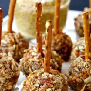 Beer and Pretzel Cocktail Meatballs
