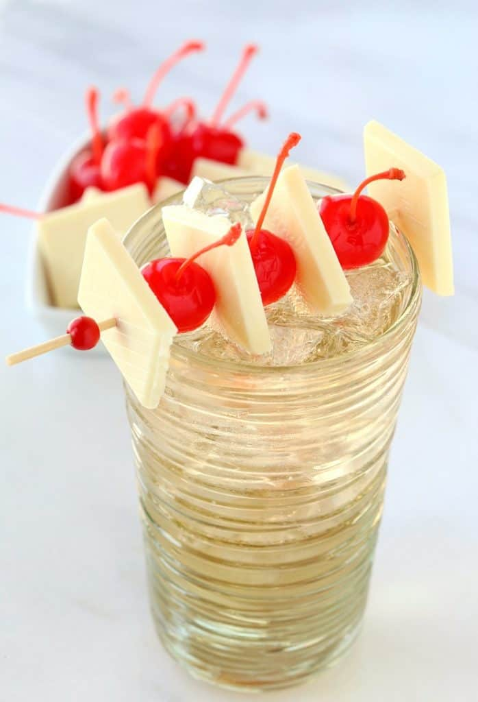 Try this chocolate Cherry Hard Soda for Valentine's Day or any day!