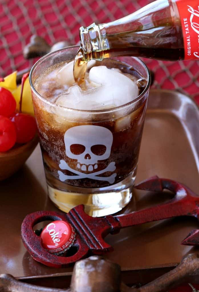 This Blackbeard's Rum and Coke is going to be the hit of happy hour!