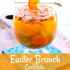 Easter Brunch Cocktails