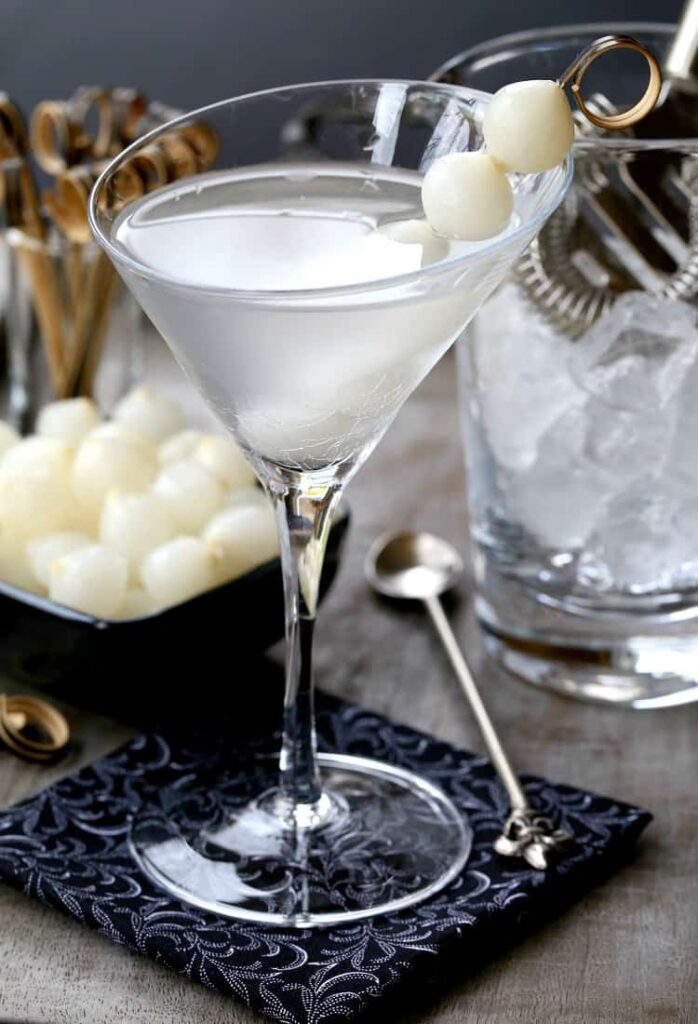 Gibson Martini is a gin martini with onions
