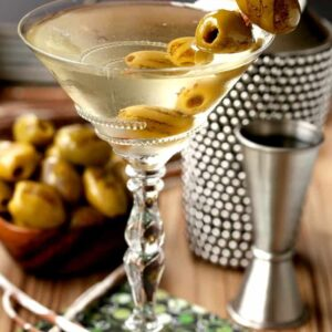 Grilled Dirty Martini