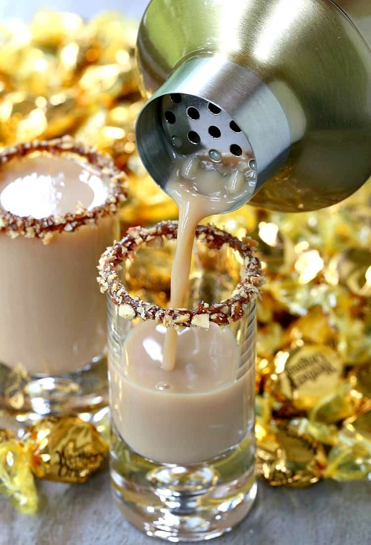 Chocolate Toffee Crunch Shot is a dessert shot recipe for parties