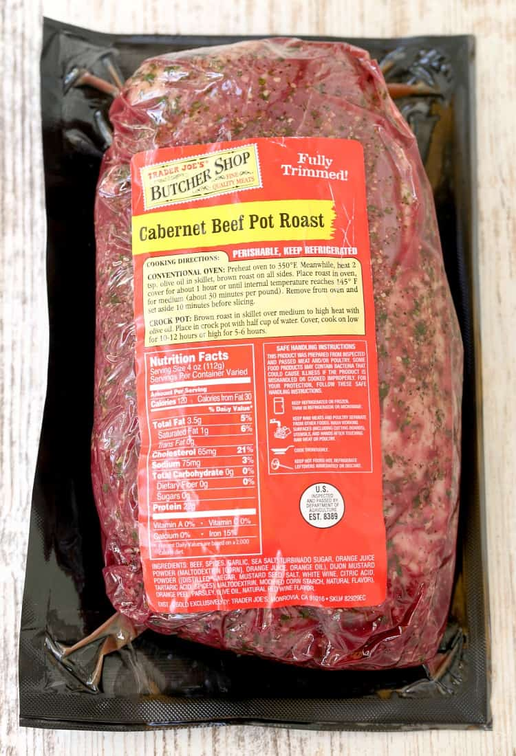 Cabernet Pot Roast