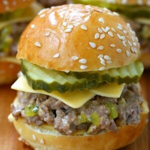 Sloppy Joe Mini Mac Sliders