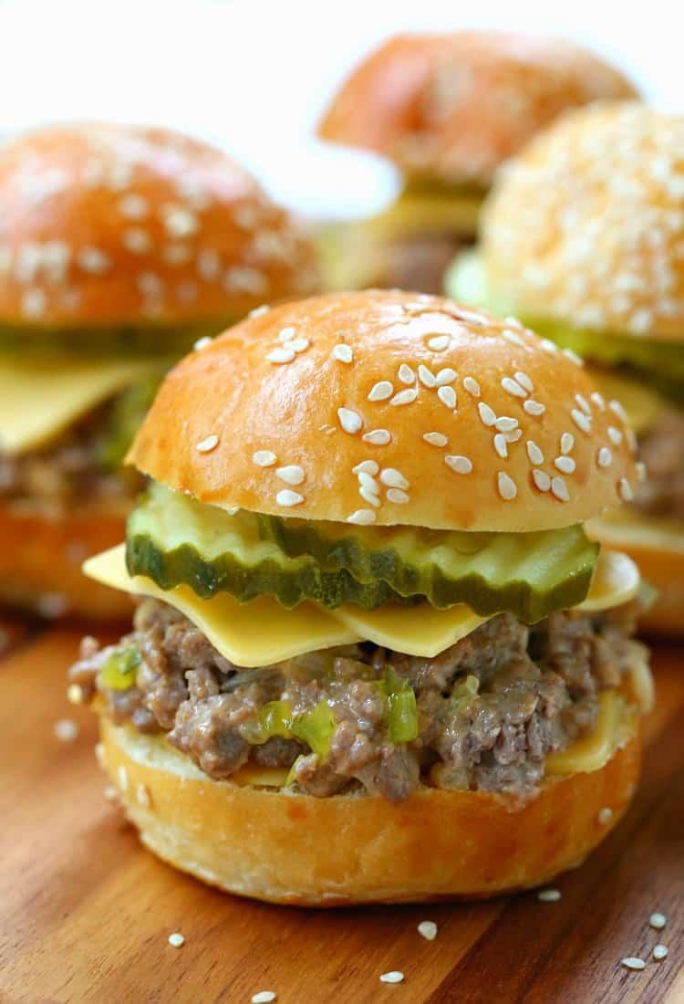Big Mac Sliders taste just like biting into a big mac!